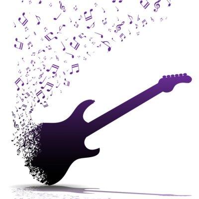Poster Tocar guitarra