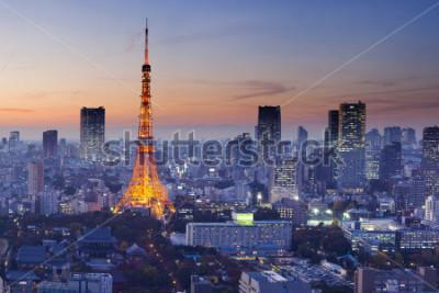 Poster Tokyo Tower, Tokyo, Japan