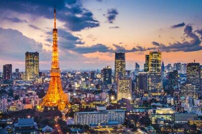 Poster Tóquio, Japão, no Tokyo Tower