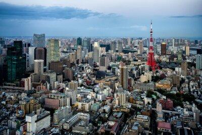 Poster Tóquio vista da cidade