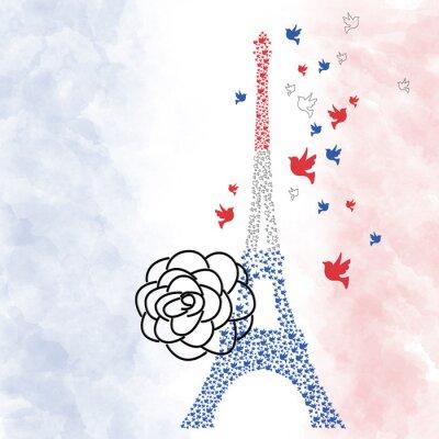 Poster Torre Eiffel de Paris