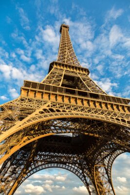 Poster Torre Eiffel em Paris