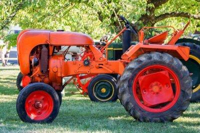 Poster Tractor antigo
