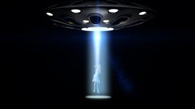 Poster Ufo sequestrou uma mulher