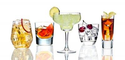 Poster Vários cocktail.