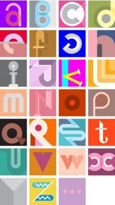 Poster Vector Font