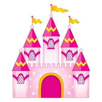Poster Vector Magic Fairytale Castle
