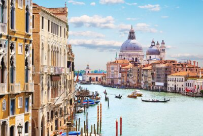 Poster Veneza. Grand Canal