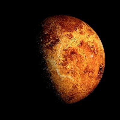 Poster Venus Elementos desta imagem fornecidos pela NASA