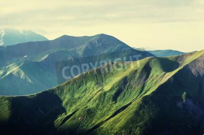 Poster Verão colinas verdes