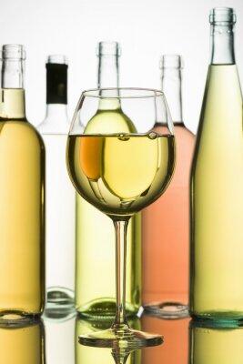 Poster vinho branco