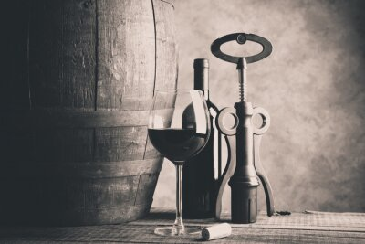 Poster vinho fino