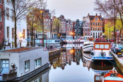 Poster Visão geral de Amesterdão