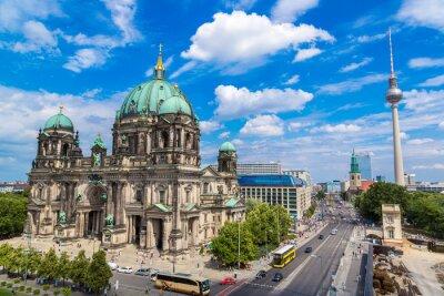 Poster Vista da Catedral de Berlim