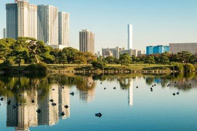 Poster Vista, tokyo, cityscape, parque