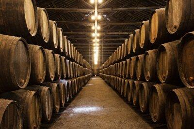 Poster Wine cellar, Porto