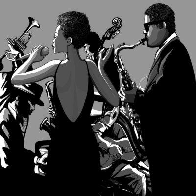 Quadro 0009-Jazz Singer