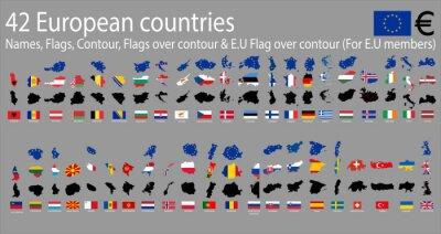 Quadro 42 países europeus