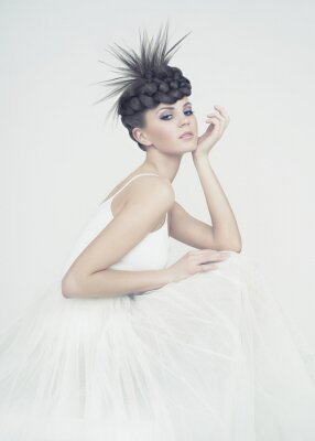 Quadro A bailarina bonita