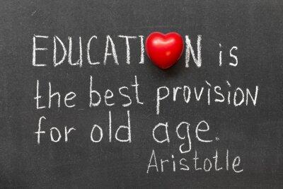 Quadro a educação é