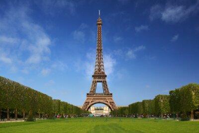 Quadro A torre Eiffel em Paris