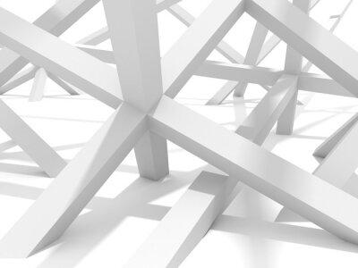 Quadro Abstrato futurista Arquitetura Elemento de desenho Fundo