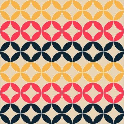 Quadro abstrato geométrico padrão artístico
