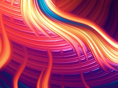 Quadro Abstrato moderno enérgico wallpaper / background