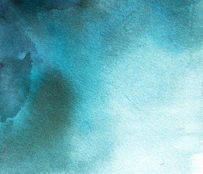 Quadro Abstratos, azul, aquarela, mancha, fundo, divórcio