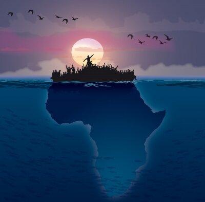 Quadro Afrique - Emigração