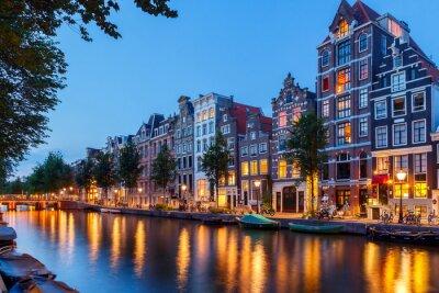 Quadro Amsterdam's canals.