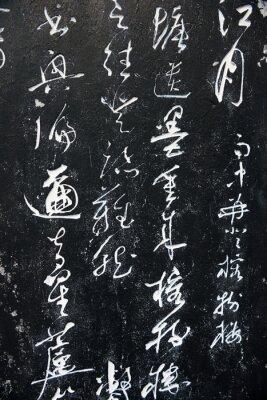 Quadro Antigas palavras chinesas