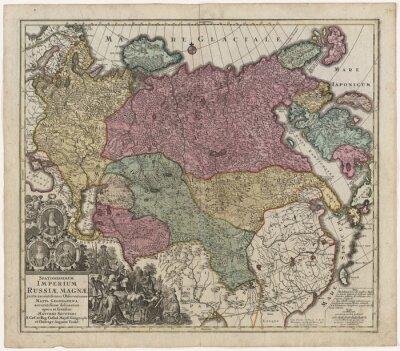 Quadro Antigo mapa