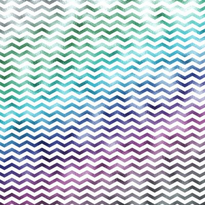 Quadro Arco-íris Metálico Metálico Faux Foil Chevron Padrão Chevrons Textur