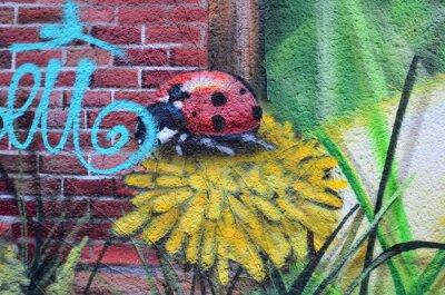 Quadro Arte de rua dans les rues de Berlim