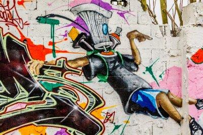 Quadro Arte de rua Graffiti