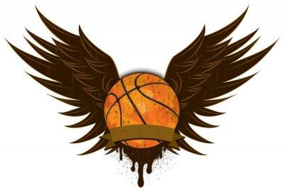 Quadro Asas de basquete