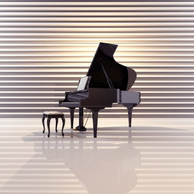 Quadro Asas, música, piano, concerto