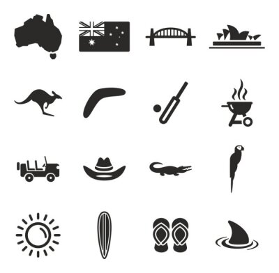 Quadro Australia Icons