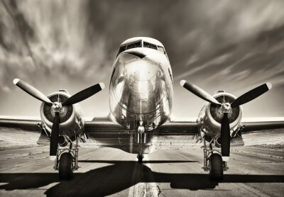 Quadro Avião vintage