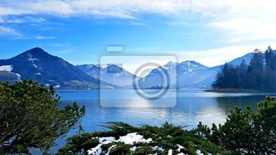 Quadro Azul alpino