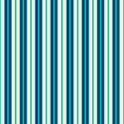 Quadro Azul Linhas Padrão