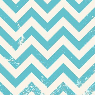 Quadro azul teste padrão da viga com textura afligida