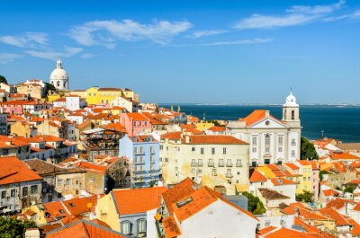 Quadro Baixa de Lisboa, Portugal