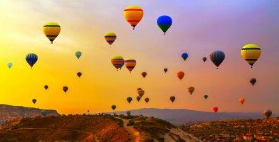 Quadro Balões CappadociaTurkey.