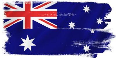 Quadro Bandeira de Austrália