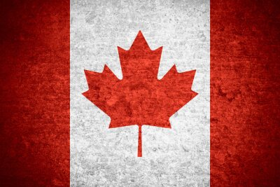 Quadro Bandeira do Canadá