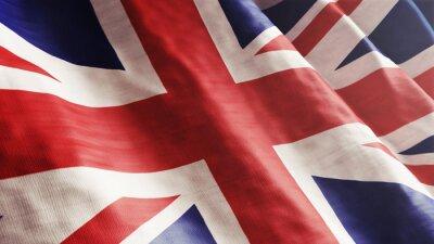 Quadro Bandeira Inglês
