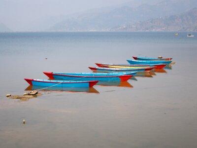 Quadro Barcos no Lago Fewa