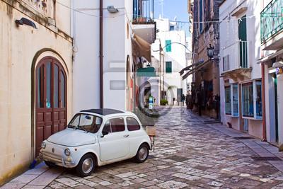 Quadro beco de Otranto, Itália